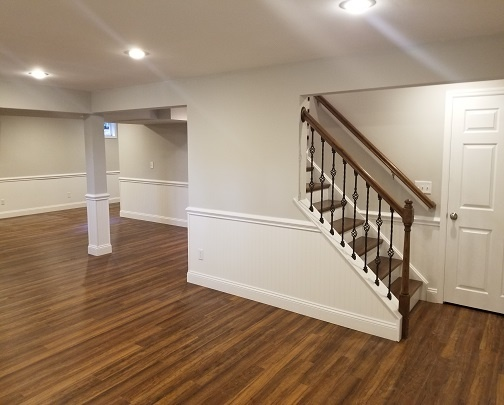 BASEMENT REMODEL IN RALEIGH NC