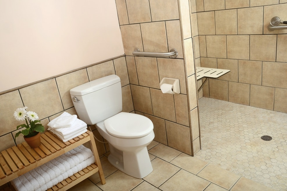 Aging-in-place-home-design-bathroom-in- Apex-by-Paradise Found Construction