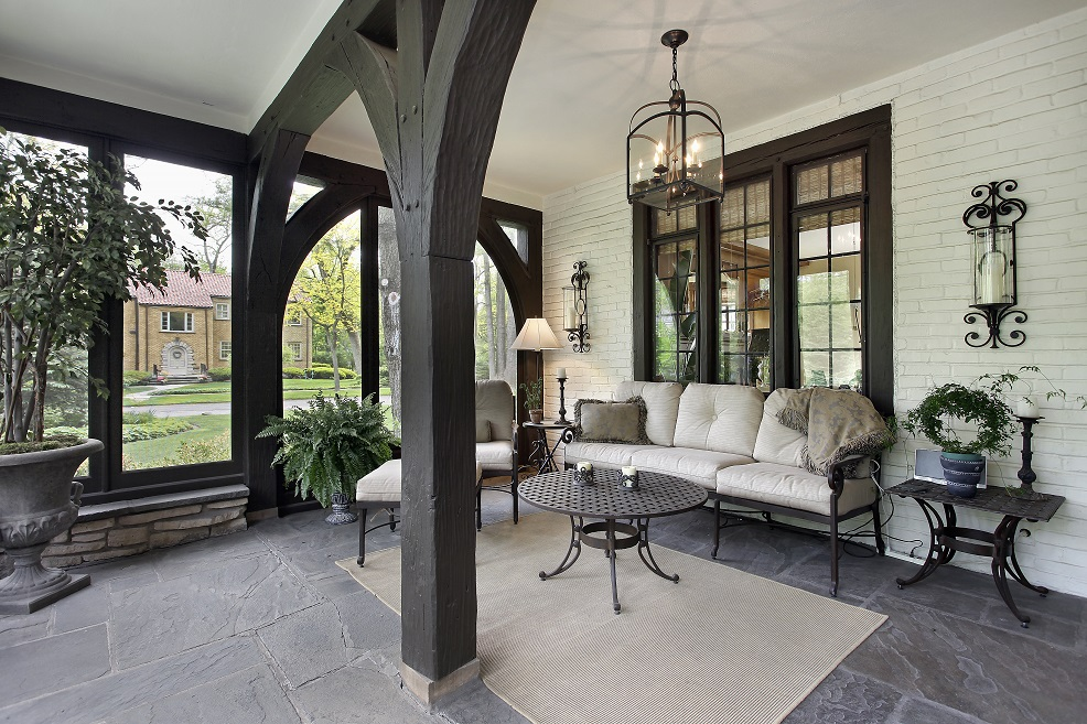 sunrooms and screened porches design build in Raleigh by Paradise Found Construction